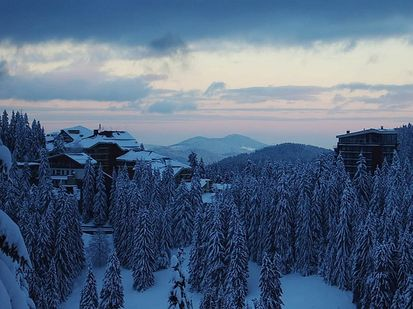 apartments in the mountain town of pamporovo, bulgaria