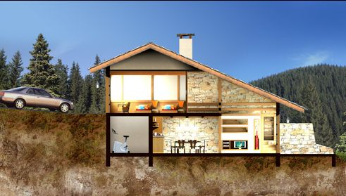 bulgarian properties for sale - villas in pamporovo