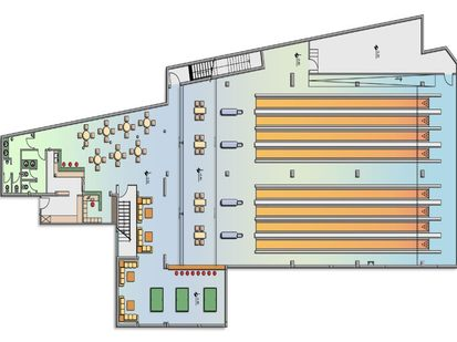 Bowling hall - plan