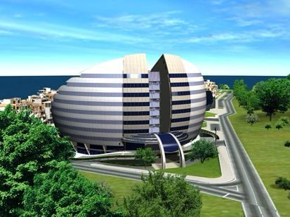 Off plan apartments for sale in the complex in the coastal resort of Tsarevo on the Bulgarian Black Sea coast