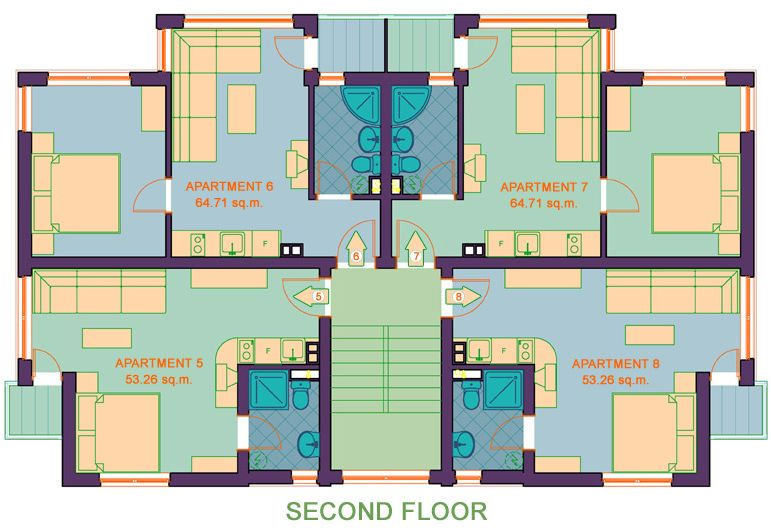 Floor plan - 2nd floor