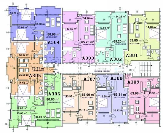 Floor plan - third floor