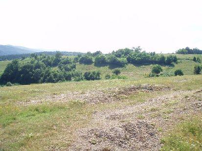 Bulgarian land near sea