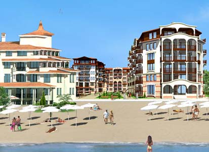 Luxury apartments for sale on the south Black Sea coast