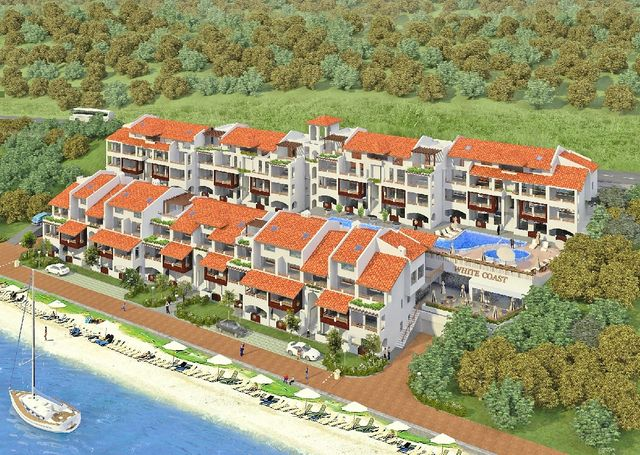 White coast - apartments for sale on the beach